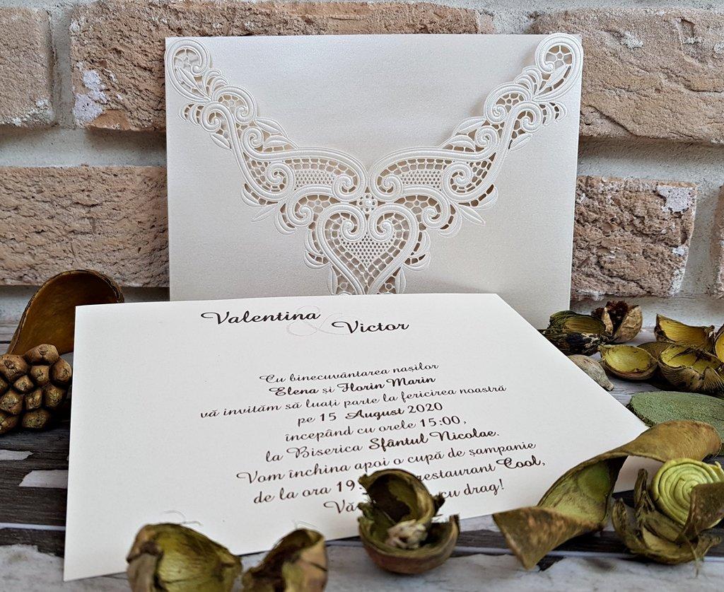 Invitatii Nunta Invitatii Erdem Invitatii De Lux Invitatii